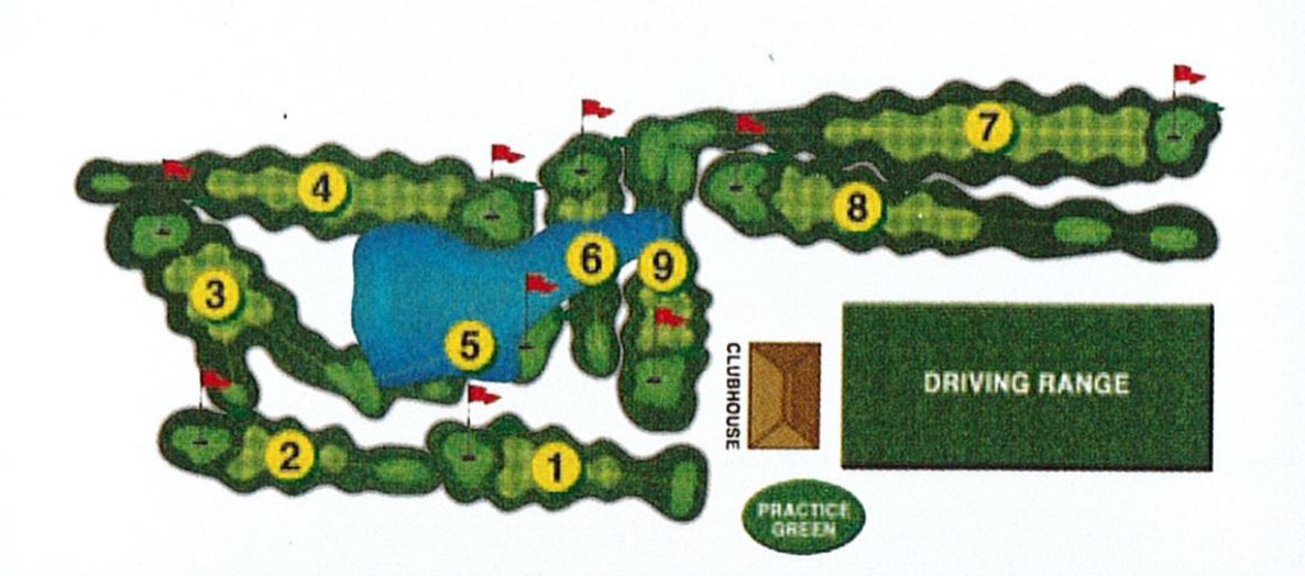 Clear Creek Course Map